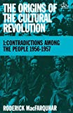 The Origins of the Cultural Revolution 9780231083850