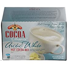 Land O Lakes Cocoa Classics Hot Cocoa Mix, Arctic White, 10 Count K Cups - Case of 6