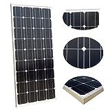 ECO-WORTHY 100W Solar Panel 12V Monocrystalline Photovoltaic PV Module