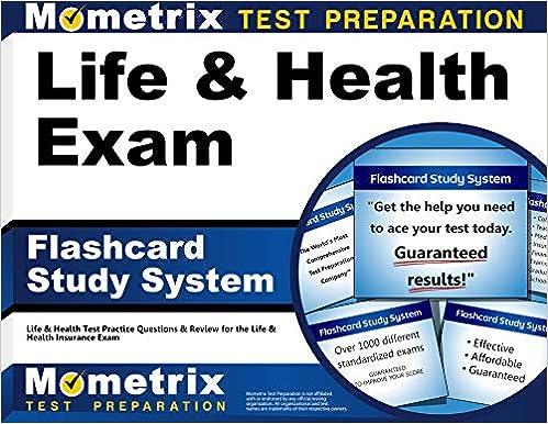 Life Health Exam Flashcard Study System Life Health Test