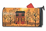 Halloween Glow Large Mailbox Cover Primitive Oversized Holiday MailWraps