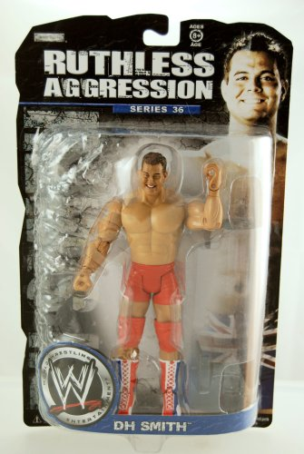 WWE - 2008 - Ruthless Aggression Series 36 - DH Smith Action Figure - w/ Breakaway Bench - Limited Edition - Mint - Collectible
