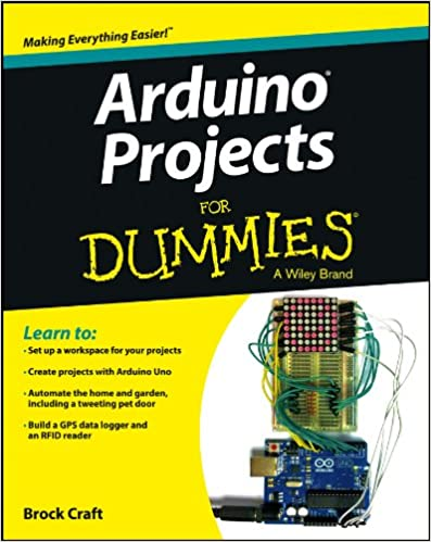 Amazon Arduino Projects For Dummies Ebook Brock Craft Kindle