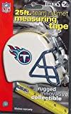 DuraPRO NFL Tennessee Titans 25 Foot Team Helmet Measuring Tape, NEW