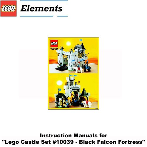 for Lego Castle Set #10039