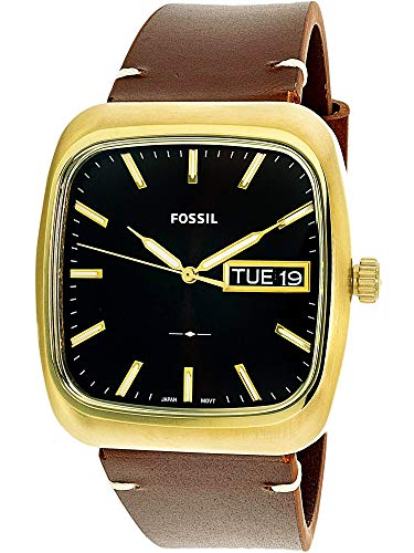 Fossil Men's Rutherford FS5332 Gold/Brown One Size
