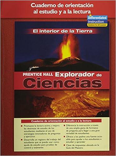Pdf bøker søk og nedlastingSCIENCE EXPLORER INSIDE EARTH SPANISH GUIDED READING AND STUDY WORKBOOK 2005 på norsk iBook
