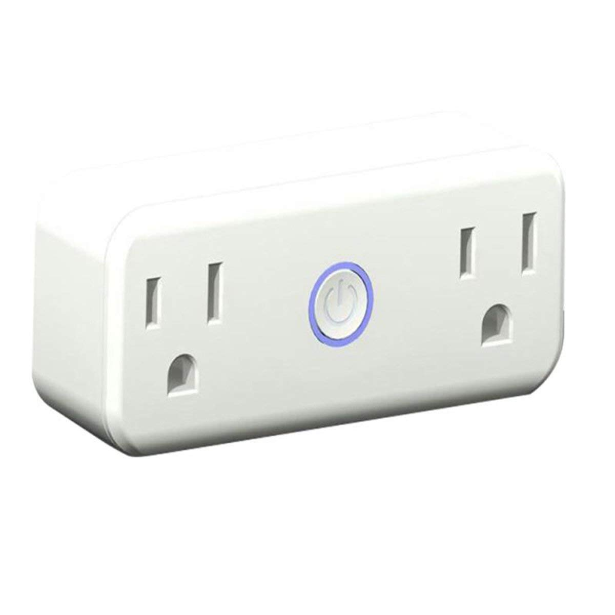 WIFI Smart Plug Mini Outlet with Energy Monitoring Works with Amazon Alexa Echo and Google Assistant … (White)