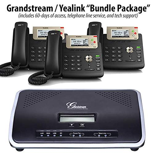 UCM6202 - PBX Business Phone System (Cloud/Hosted / Co-Located Version) w 4 Yealink SIP-T23G ()
