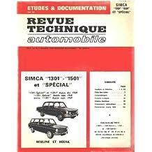 Revue technique automobile: special simca 1304-1501 et special