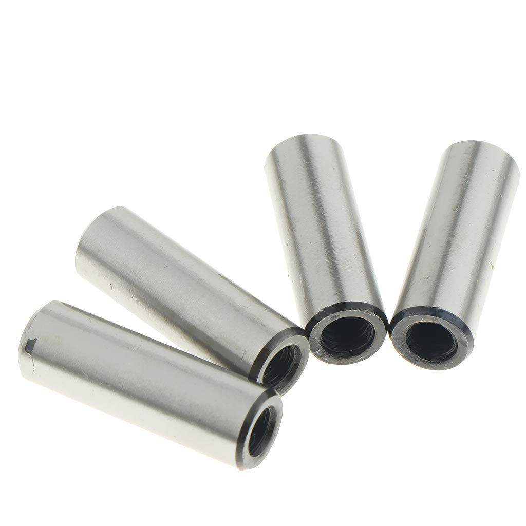 100mm 4pcs 10mm Metric Din Stainless Steel Dowel Pins 10 Mm Dia Dowel Pins Chrome