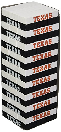 Wild Sports NCAA College Texas Longhorns Table Top Stackers Game
