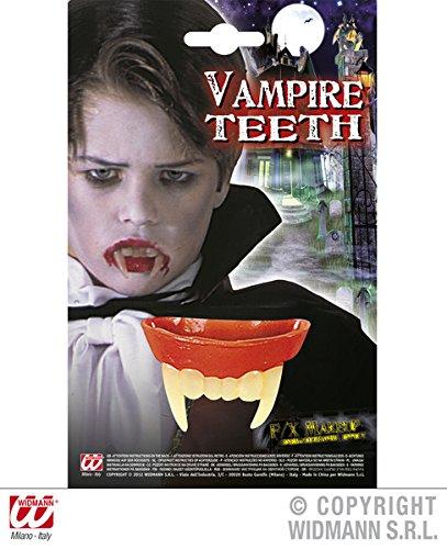Vampire Teeth Child Size for Dracula Halloween Fancy Dress