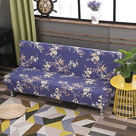 Funda para sofá o cama tamaño universal sin reposabrazos, funda ...