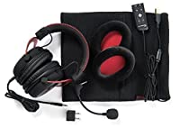 HyperX Cloud II Gaming Headset - 7.1 Surround Sound - Memory Foam Ear Pads - Durable Aluminum Frame - Multi Platform Headset - Works with PC, PS4, PS4 PRO, Xbox One, Xbox One S - Red (KHX-HSCP-RD) from HyperX