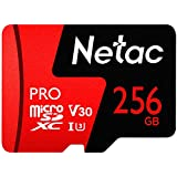 256GB Micro SD Card,U3 V30 Memory Card for 4K Video Recording Ultra High Speed 100MB/s Micro SDXC UHS-I TF Card with Adapter