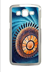 Abstract Chandelier Custom Samsung Galaxy Grand 2 7106 Case Cover ¡§C Polycarbonate ¡§CTransparent