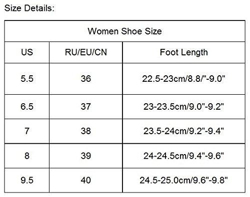 Ama (tm) Sandali Infradito Moda Donna Open Toe Flat Flip-flop Mocassini Beach Shoes Red 2