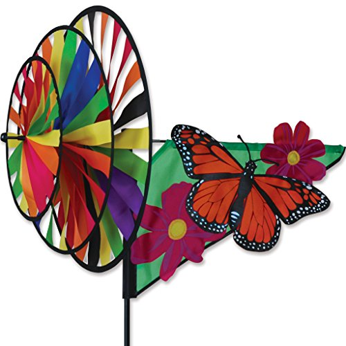 Triple Spinner - Monarch (Garden Triple Spinner Wind)