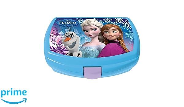 GABBIANO 6110640 Sandwichera de plástico, diseño Frozen: Amazon.es: Hogar