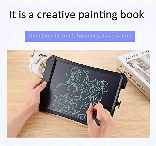 Graphic Drawing Tablet Digital Drawing Board 11 inch LCD Monochrome Screen Fine Handwriting Writing Tablet High Brightness Handwriting Drawing Sketching Graffiti Scribble Doodle Board for Home Office