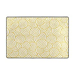 Doormat Front Door Mats Outdoor Inside Mats Personalized Welcome Mats with Cheung Cloud Shading for Chair Mat and Decorative Floor Mat for Office and Home (36 x 24 in & 72 x 48 in)