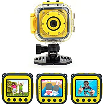Precision Design K1 Kids Hd Action Camera Camcorder Yellowblack