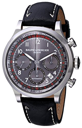 (Baume & Mercier Men's MOA10003 Capeland Chronograph Watch)