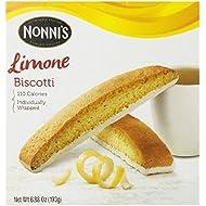 Nonni's Limone Biscotti, 6.88 Ounce (Pack of 3)