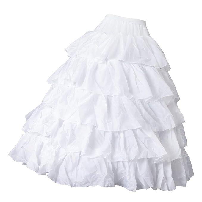 Backbayia - 4 aros falda de cereolina para boda: Amazon.es: Ropa y ...