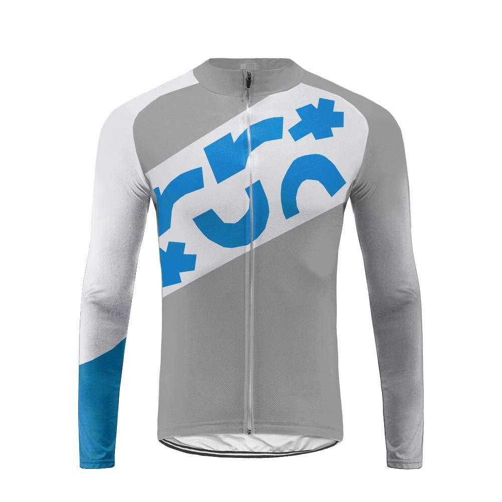 Uglyfrog Herren Winter Thermal Fahrradbekleidung Set Radtrikot Langarm Winddicht Herren Thermische Fleece mit 3D Polster Hosen F09