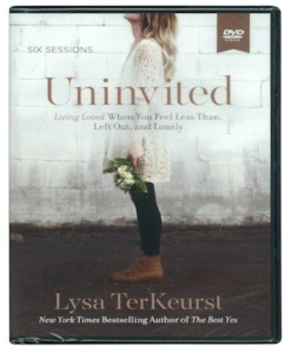 Uninvited DVD by Lysa TerKeurst 6 Sessions