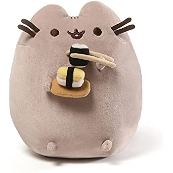 Gund pusheen cat plush stuffed animal 12 for Amazon com pillow pets