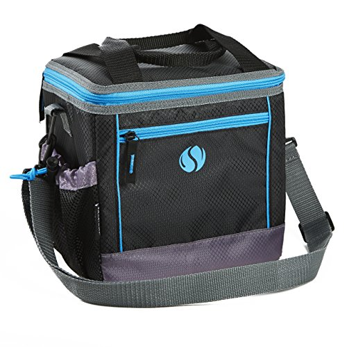 Fit & Fresh Sport Lunch Bag, Small Insulated Cooler Bag for Adults and...
