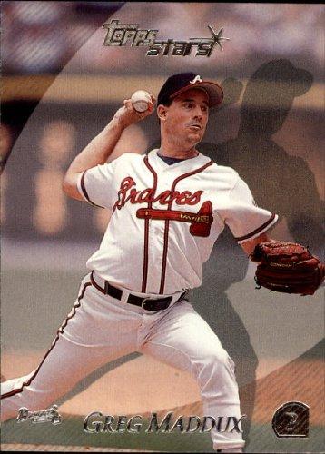 2000 Topps Stars 165 Greg Maddux Braves Baseball Card