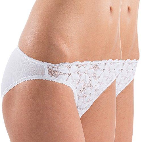 HERMKO - Bikini - Ropa - para mujer Weiß