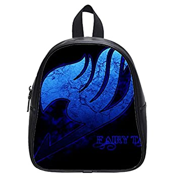 28413f9052e1 Image Unavailable. Image not available for. Color  Custom Fairy Tail blue  logo kids Backpack ...