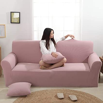 Com Knit Stretch Sofa Slipcovers Couch Covers Strap