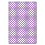 UNIQOOO 60 Sheets Premium Purple White Polka Dots Tissue Gift Wrap Paper Bulk, 20'' X 26'' Each,100% Recyclable Gift Wrapping Accessory,Perfect for Gift Wrapping, Wine Bottles, Any Art Craft Idea
