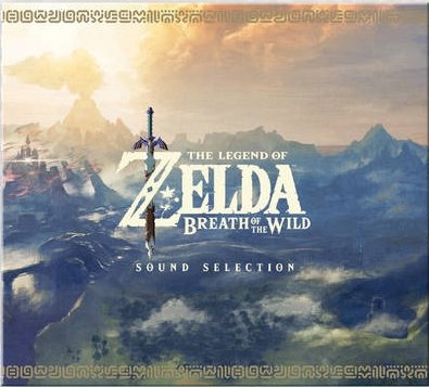 Zelda Breath of the Wild Soundtrack OST CD