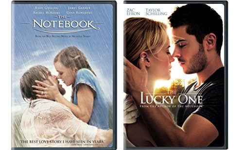Nicholas Spark 2-Movie Bundle - The Notebook & The Lucky One 2-DVD - Efron Movie Zac Love