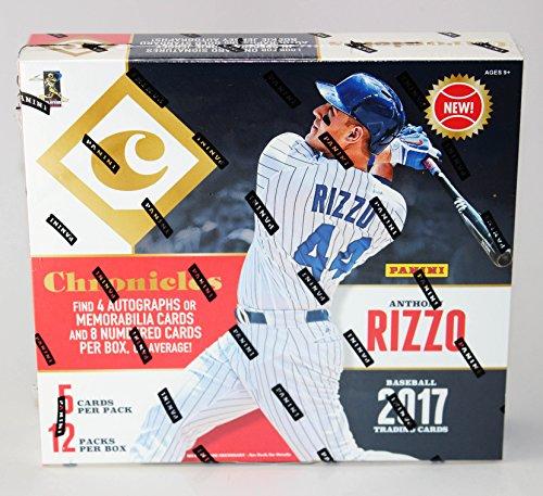 2017 Panini Chronicles Baseball Factory Sealed Hobby Box