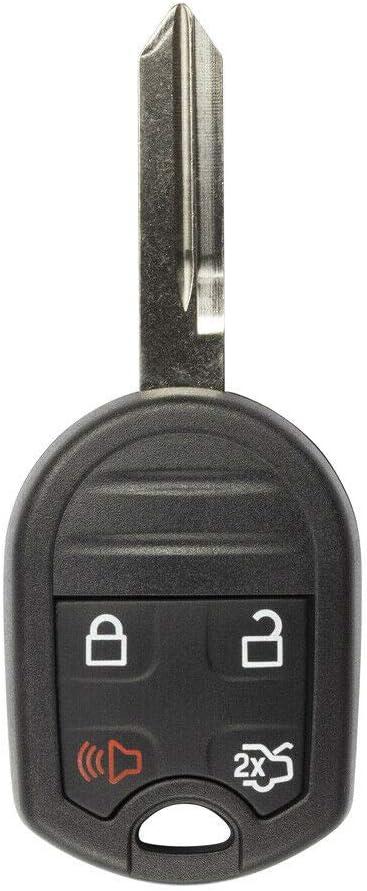FikeyPro Keyless Entry Remote Control Car Key Fob fits Ford Lincoln Mercury Mazda 4-Button CWTWB1U793 2 Pack