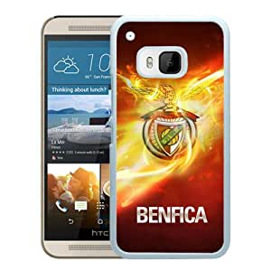 Beautiful And Fashional Designed Cover Case For HTC ONE M9 With Benfica White Phone Case 1