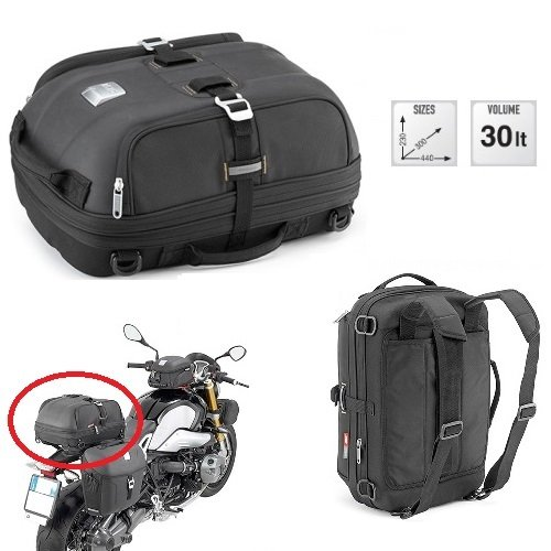 For MV AGUSTA saddle bag GIVI MT502 30LT for motorcycle scooter universal expandable Dimensions: 23X30X44CM