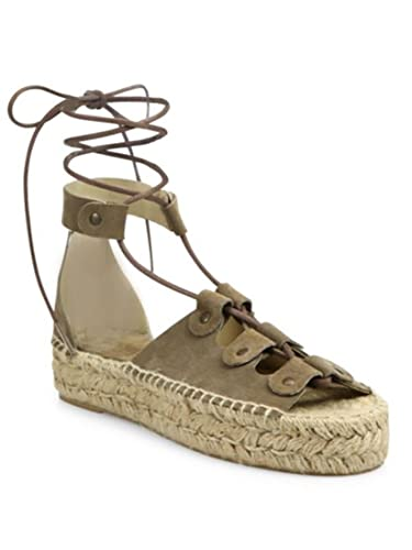 426b08d8d3 Soludos Ghillie Suede Platform Espadrille Leather Sandals Dove Grey 11 (11)