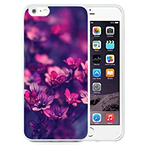 New Beautiful Custom Designed Cover Case For iPhone 6 Plus 5.5 Inch With Purple Wildflowers (2) Phone Case