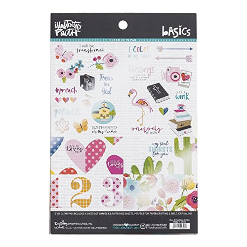 Illustrated Faith - Clear Fashion Pad - Cactus (Clear Stamps Company)
