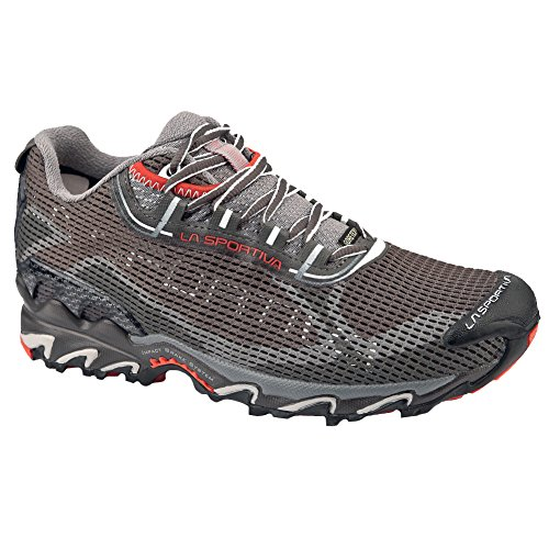 La Sportiva Women's Wildcat 2.0 GTX Running Shoe,Grey/Red,37 EU/6 M US (Wildcats Runner)