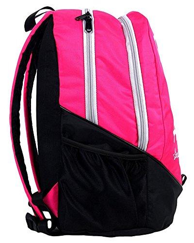 Polestar 30 Ltr Excursiones informal botella de poliéster Mochila / paraguas de la bolsa portátil bolsa de viaje Rosado